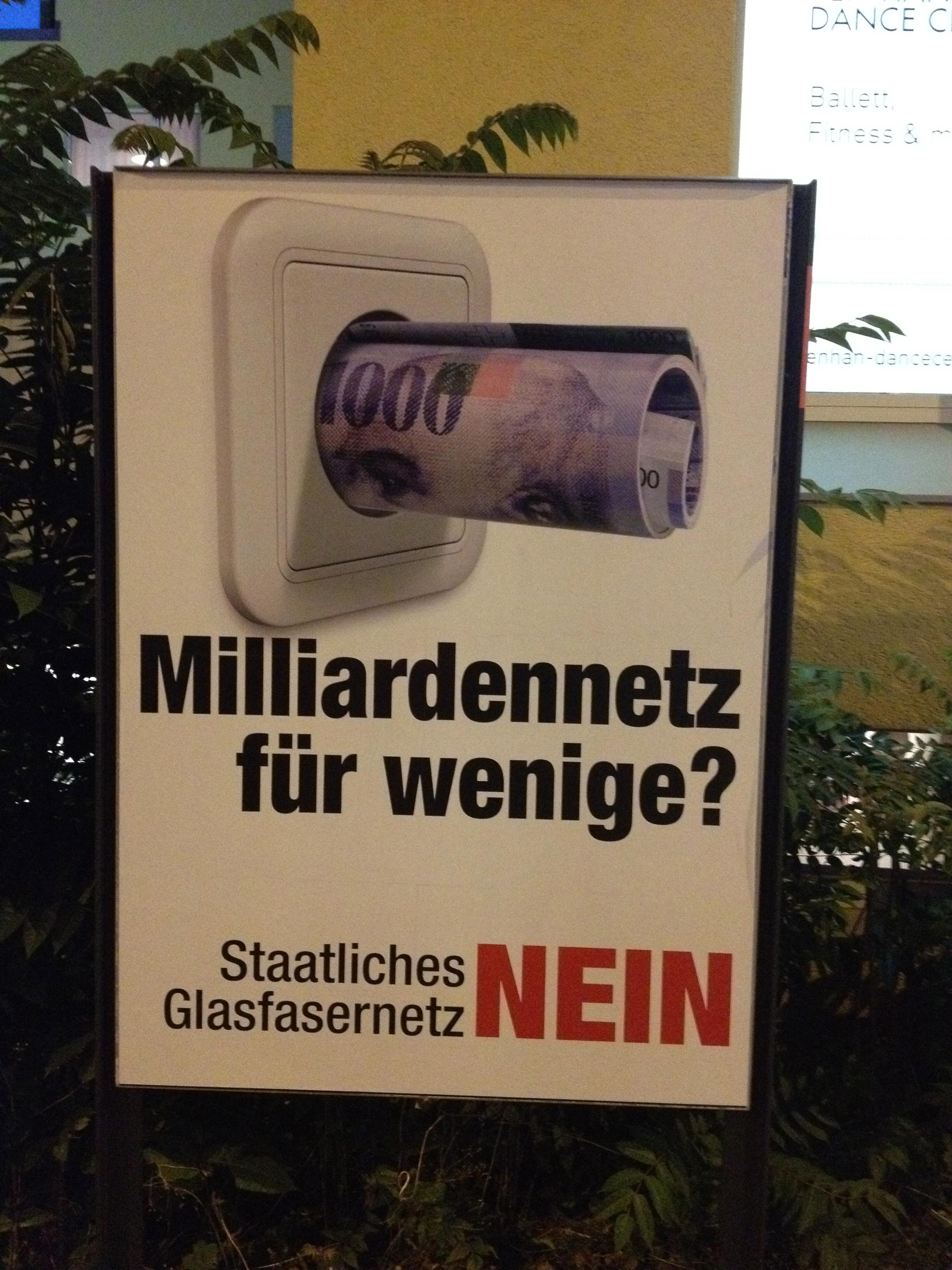 Fiberinternett i Zürich by - NEI